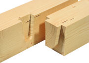 Log Building: Lignatool Mortise and Tenon Templates