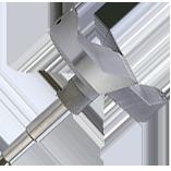 ZOBO System 3 CHROMIUM drill bits METRIC 101-130 mm