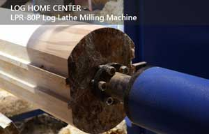 Log Lathe and Milling Machine from Shingmatic