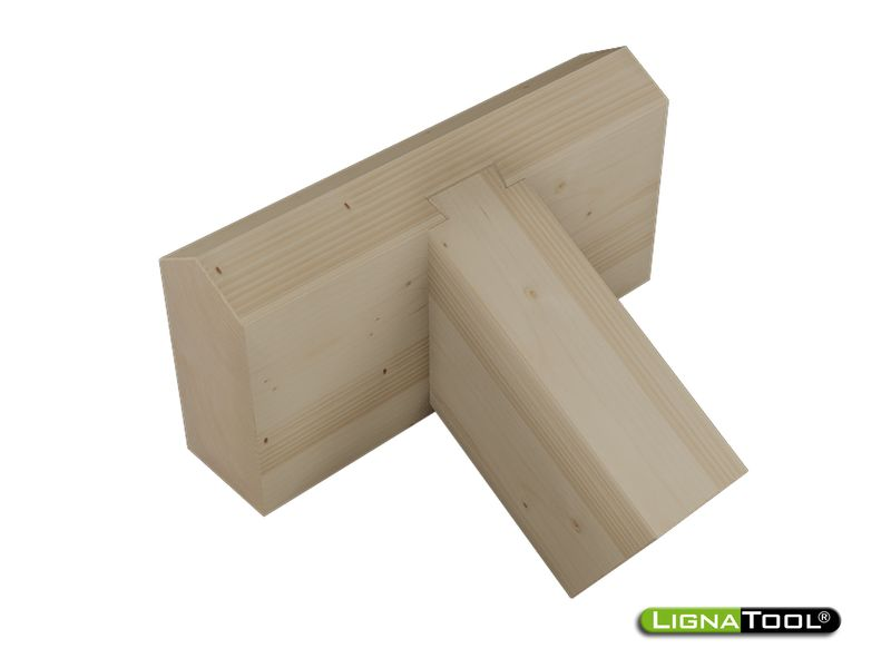 photo relating to Printable Dovetail Template named Lignatool Dovetail Mortise Tenon Template -